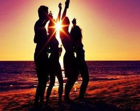 Вечеринки на берегу Балатона